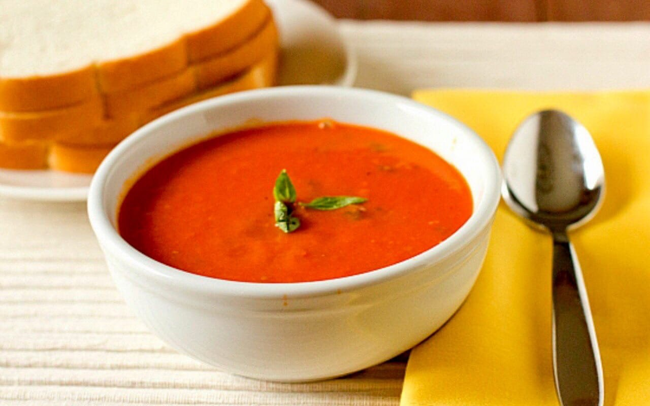 Томатный и апельсиновый суп овощные блюда,супы