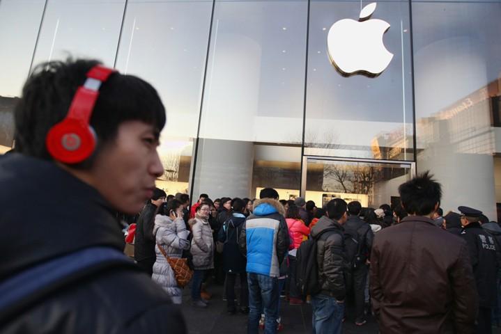 Падение спроса в Китае затормозит рост прибыли Apple