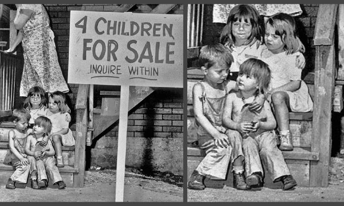 Душераздирающие истории проданных детей