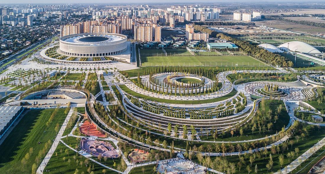 этом случае парк стадион краснодар фото это время года