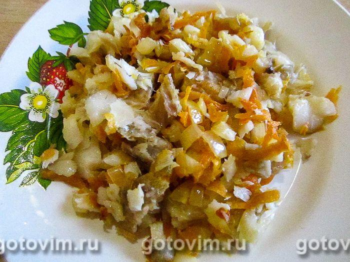Салат из минтая. Фотография рецепта