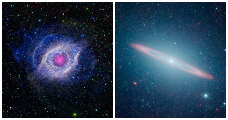 Опубликованы знаковые снимки телескопа «Спитцер»