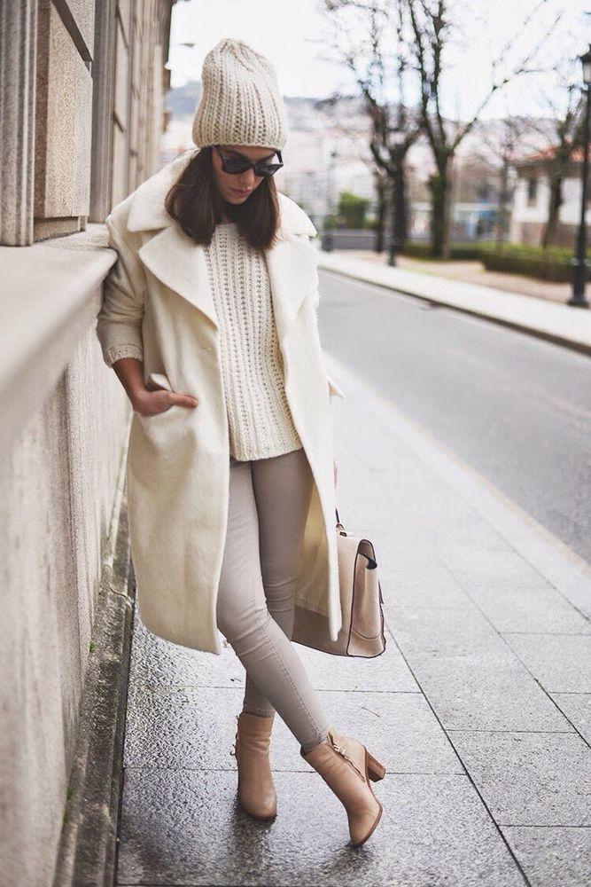 Как носить белое, когда холодно: 9 впечатляющих образов, фото № 7