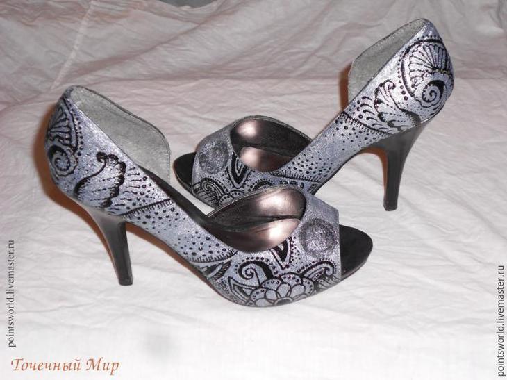 покрасить туфли
