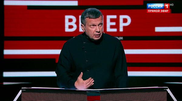 Как снимают программы Владимира Соловьёва и как там легко можно подзаработать