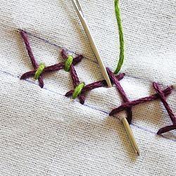 Коллекция вышивальных швов из Бразилии вышивка