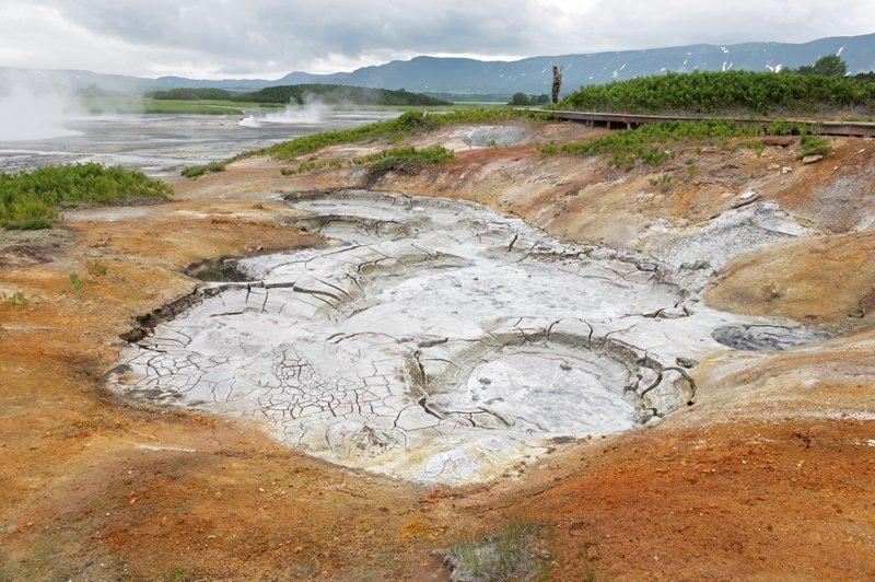 Еще одно место Кроноцкого заповедника достойное внимания—кальдера вулкана Узон. Russia, travel, животные, камчатка, факты