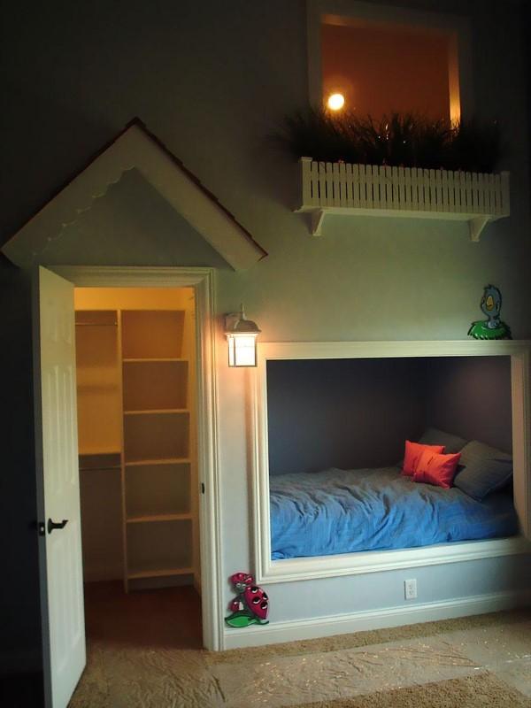 Посмотрев на креативный дизайн этих детских комнат, ты снова захочешь стать ребенком