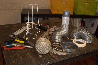 Лампы из бечевки: мастер-класс абажуры,домашний очаг,,мастер-классы,поделки,рукоделие,своими руками,умелые руки