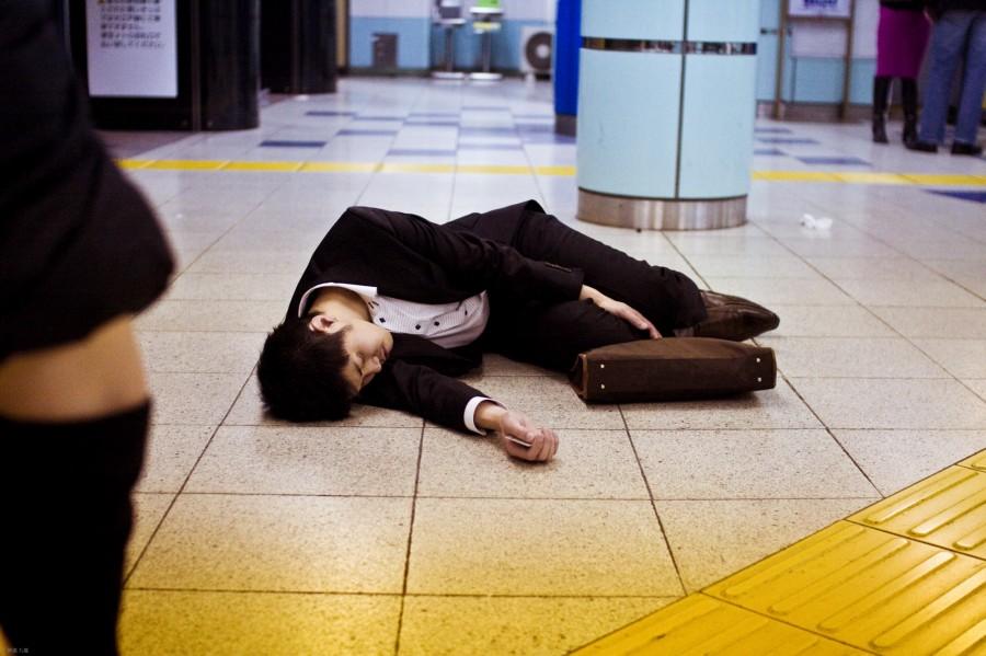 Смерть от трудолюбия в Японии