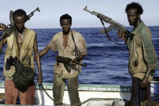 Встреча сомалийских пиратов и русских морпехов
