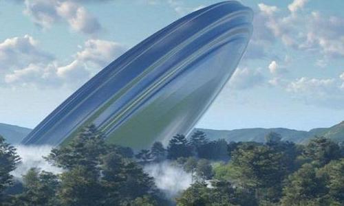 Притяжение по-итальянски: Инопланетный корабль приземлился в горах Италии