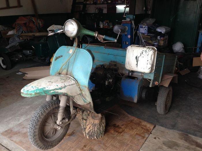 Восстановление старого мотор…