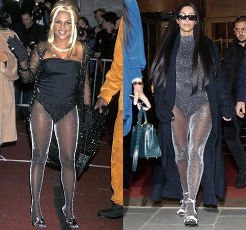 Модная битва: Лил Ким против Ким Кардашьян