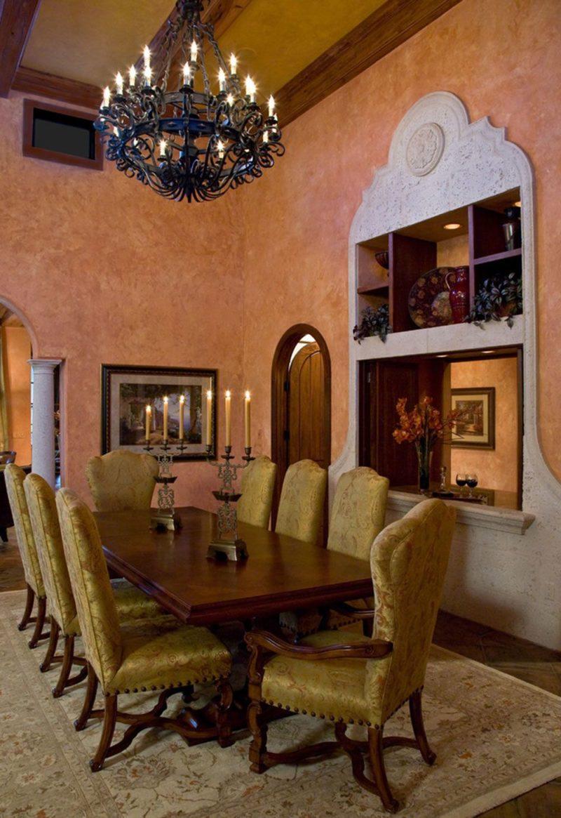 Столовая мебель в Тосканском стиле