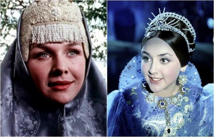 Русские красавицы из советских киносказок