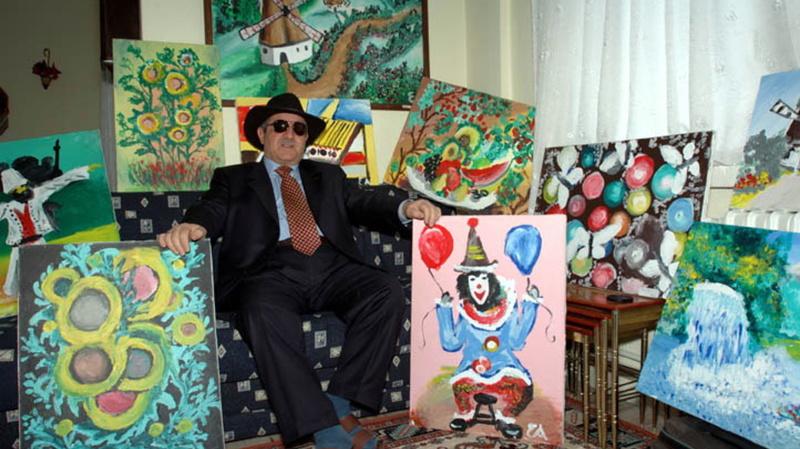 Для слепого художника Эшреф Армагана нет преград в создании шедевров, он видит руками