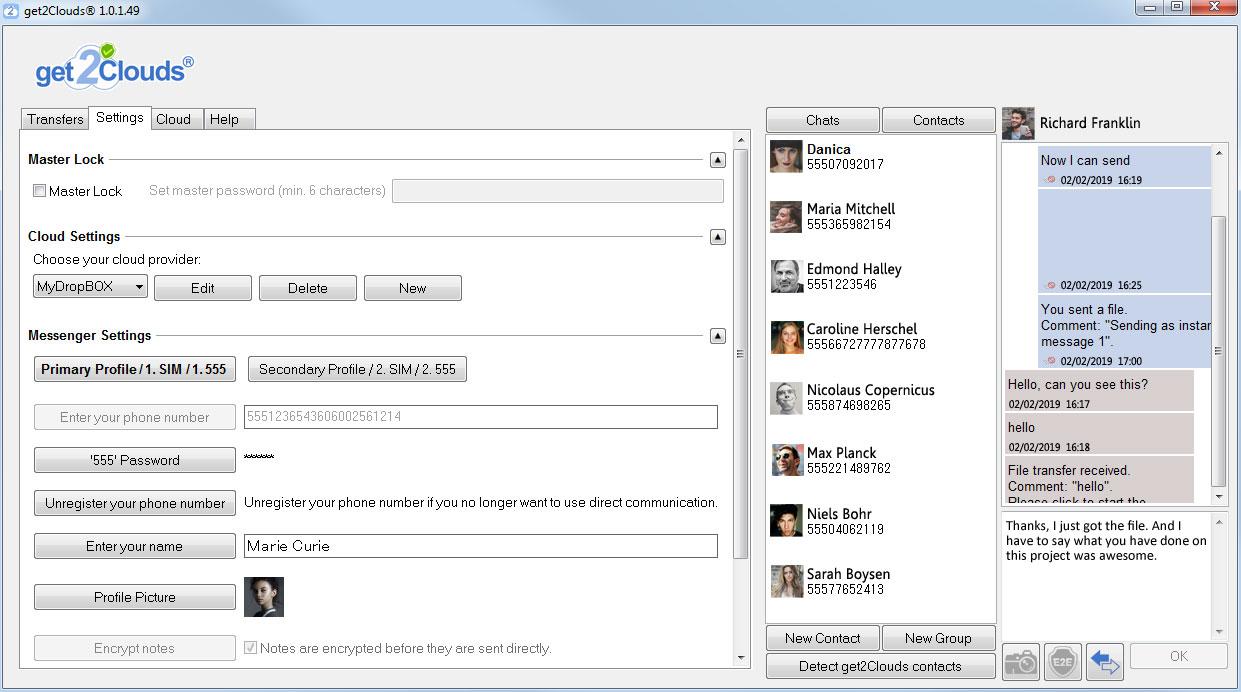 Передача файлов в облачные сервисы с помощью Get2Clouds