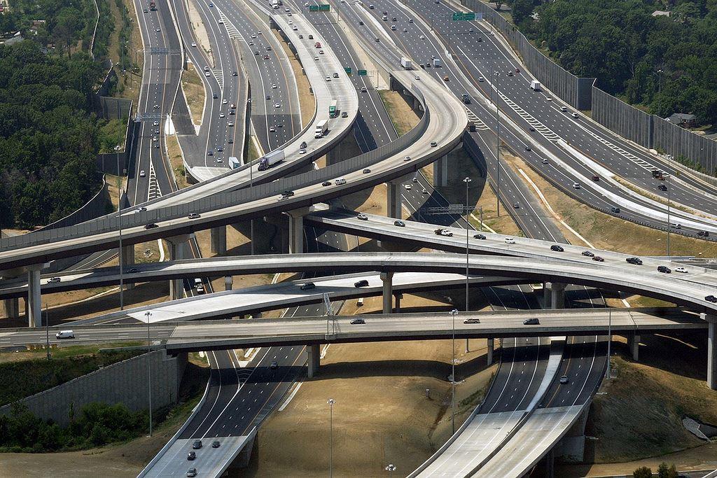 Тройка самых длинных и запутанных дорожных развязок мира дороги