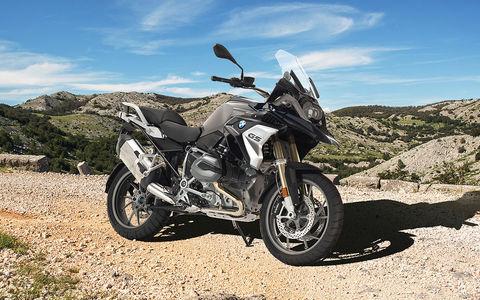 BMW сделала беспилотный мотоцикл