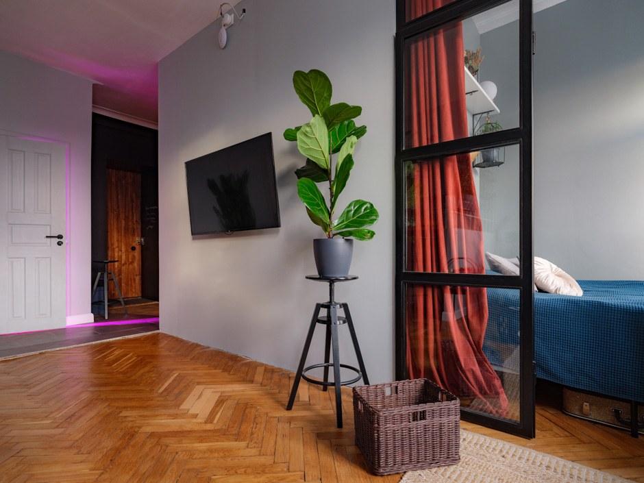 Студия в стилистике американского лофта, которая помогла хозяевам пережить карантин  идеи для дома,интерьер и дизайн