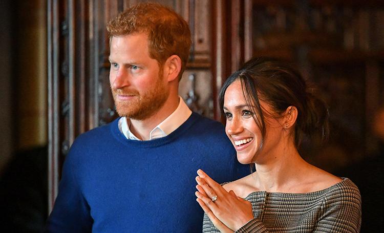 Рождественская елка принца Гарри и Меган Маркл: представлено главное украшение Кенсингтонского дворца