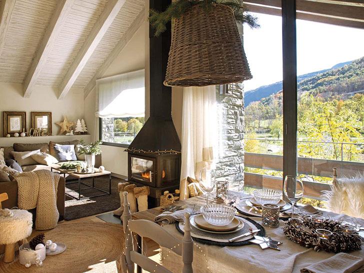 Уютное местечко для зимних каникул в горах