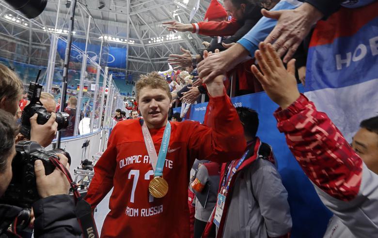 Российские хоккеисты завоевали олимпийское золото