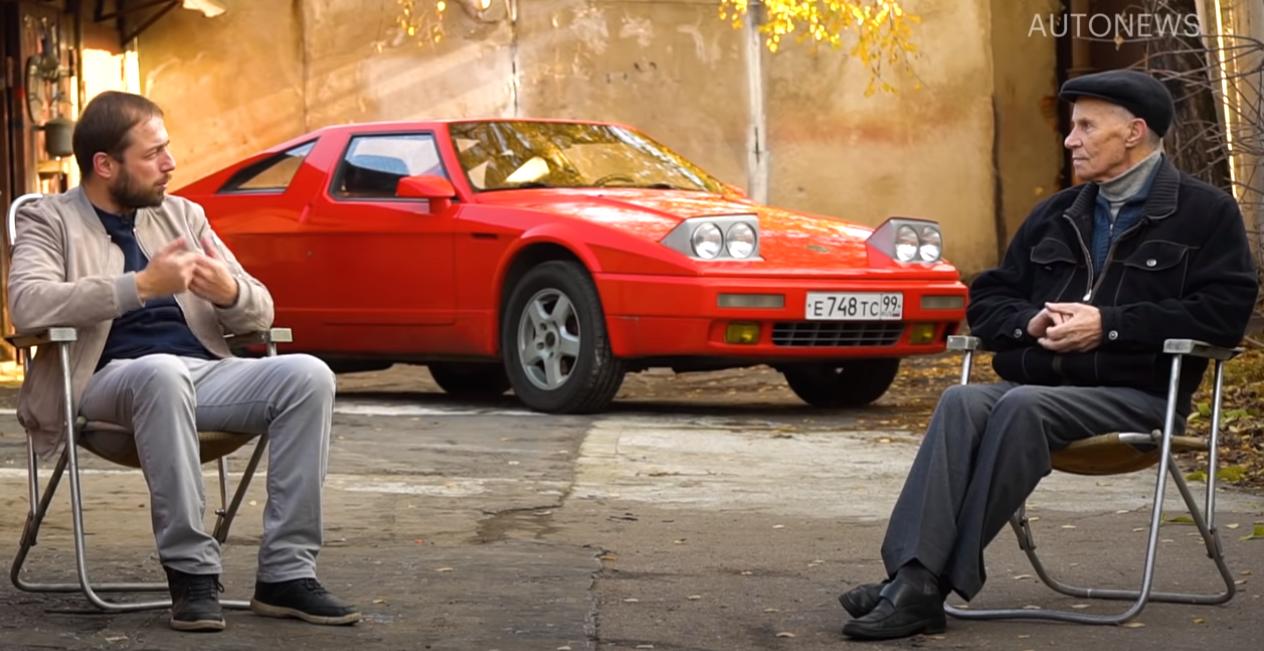 Cпорткар из гаража: легендарная «ЮНА» авто,автомобиль,НОВОСТИ,Россия
