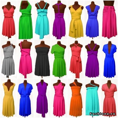 Бесконечное платье-трансформер. вариант 2