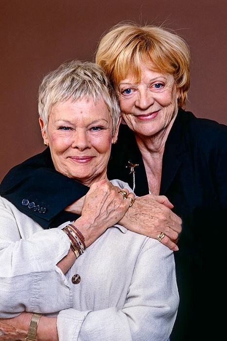 Джуди Денч и Мэгги Смит