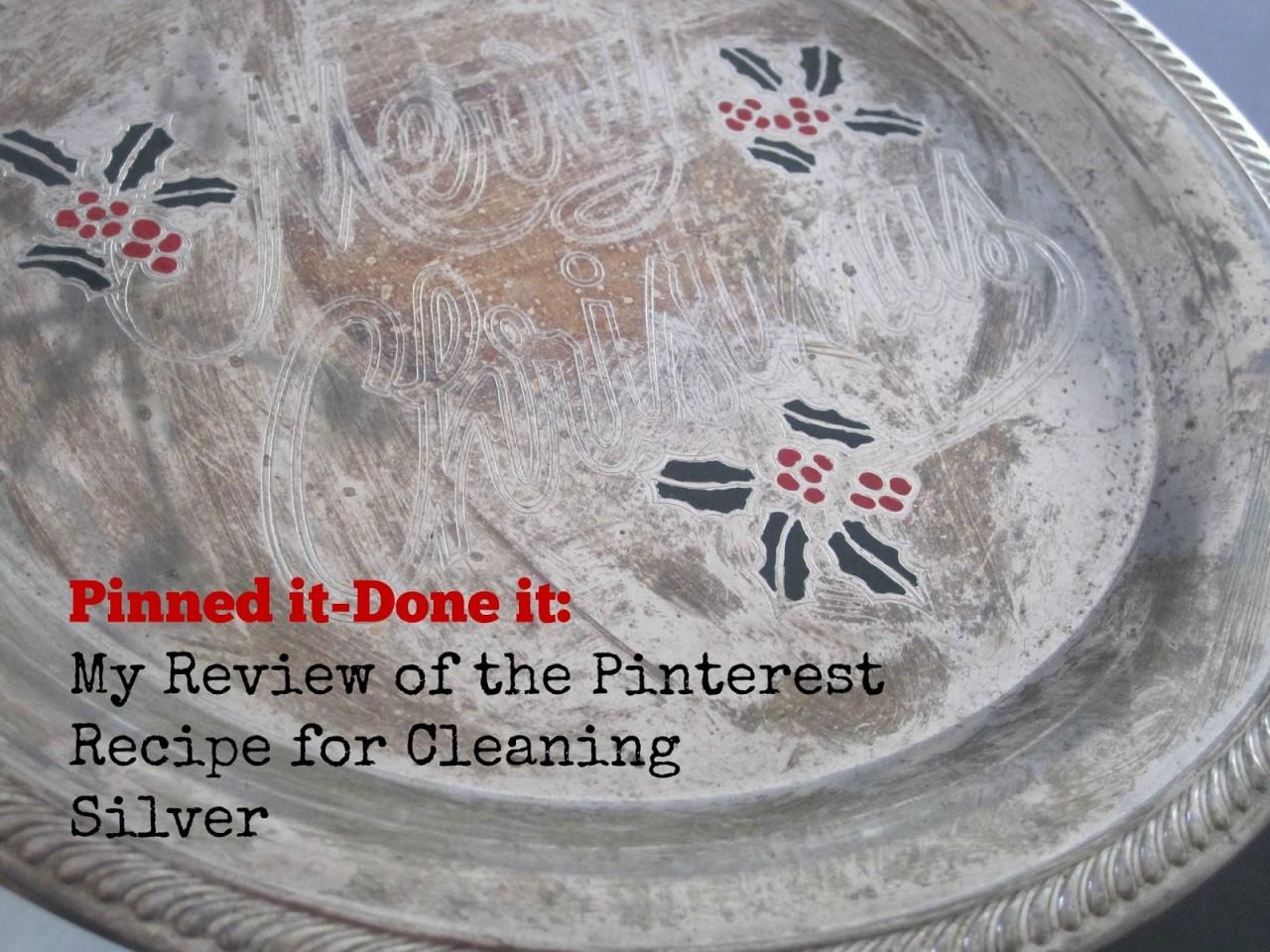 Простой и быстрый способ чистки столового серебра
