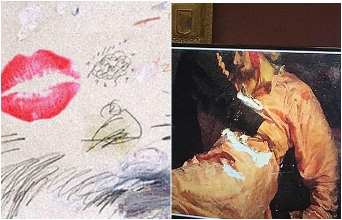 Случаи вандализма в музеях