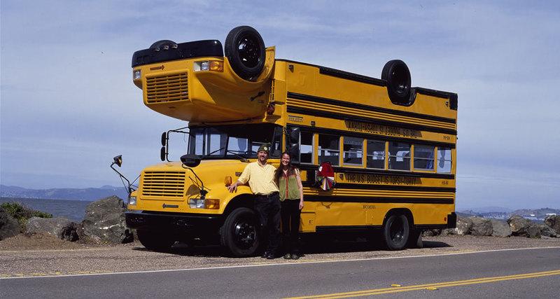 Topsy-Turvy: школьный автобус-перевёртыш