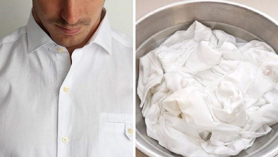 Как почистить очень грязный воротник рубашки, не повредив его
