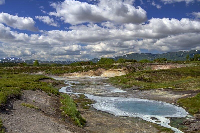 Кальдера вулкана Узон, Кроноцкий заповедник Russia, travel, животные, камчатка, факты