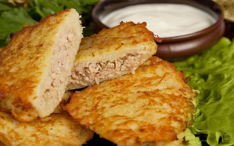 Вкусные колдуны из картофеля с фаршем: шикарный обед