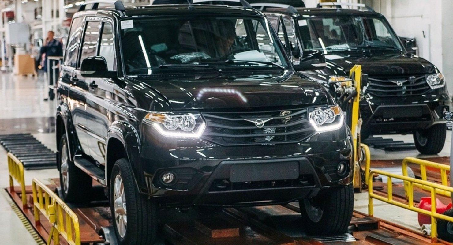 УАЗ в 1 полугодии произвел 20,5 тысячи автомобилей Автомобили