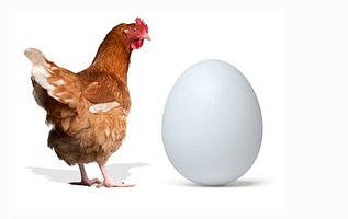 Что было раньше: яйцо или курица?
