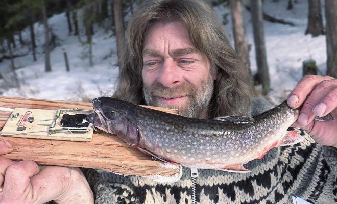 Ловим рыбу мышеловкой: способ канадских рыбаков