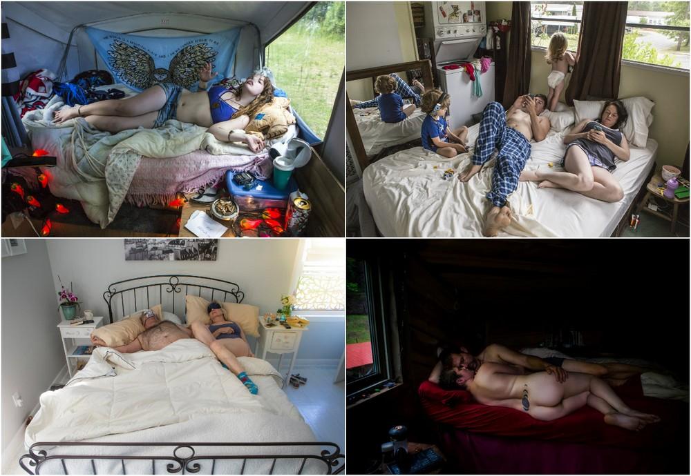Спальни американцев