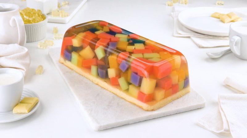 Готовим оригинальный и вкусный десерт из жевательного мармелада. Красота
