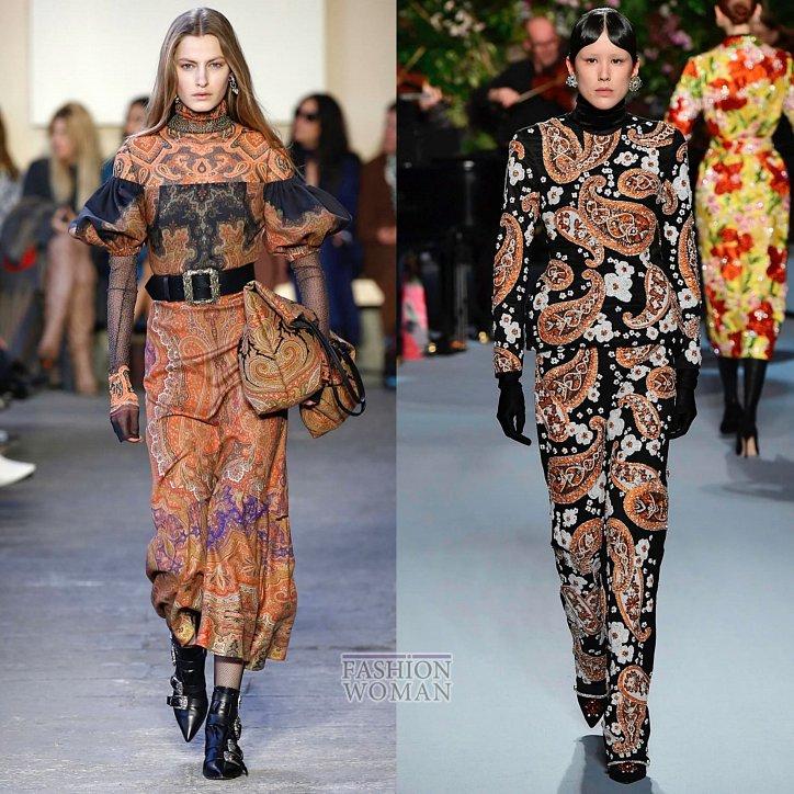 Модные принты осень-зима 2019-2020 фото №32