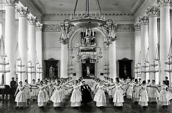 Урок танцев (мазурка), конец 1800-х интересно, исторические кадры, исторические фото, история, ретро фото, старые фото, фото