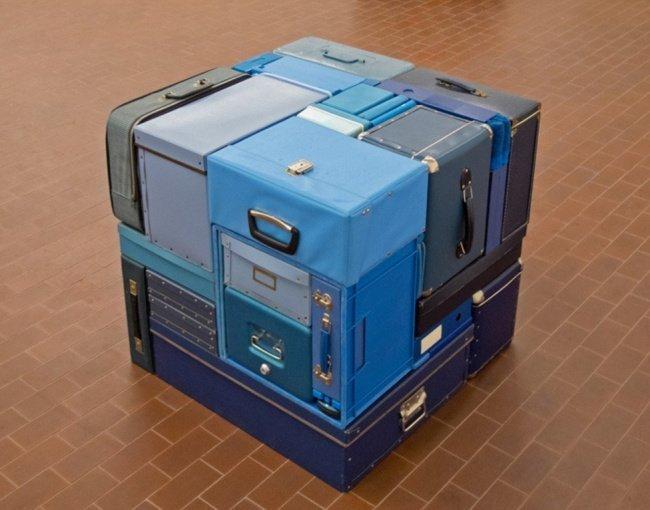 Идеально сложенный багаж красота, перфекционизм, симметрия