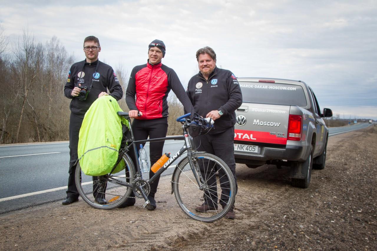 Из Калининграда до Владивостока на велосипеде: фоторепортаж