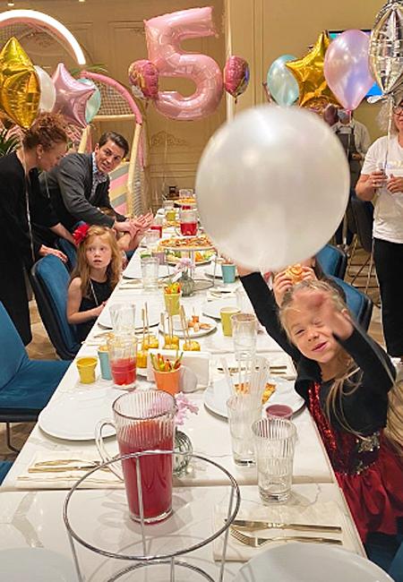 Екатерина Климова воссоединилась со своим бывшим мужем Гелой Месхи на дне рождения дочери Дети,Дети знаменитостей