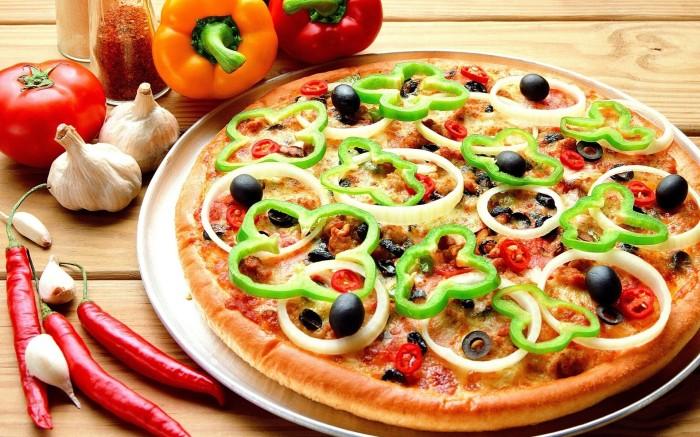 Пицца. / Фото: www.wallhere.com