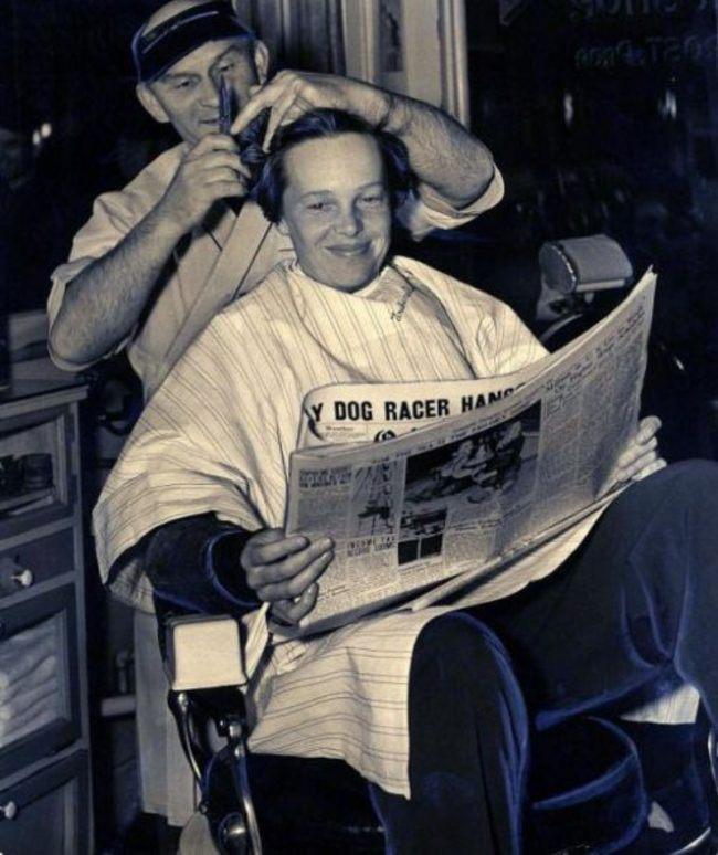 Последняя стрижка Амелии Эрхарт, 1937 год
