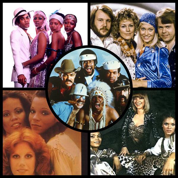 5 групп, создавших спрос на диско в 70-х группа,зарубежная